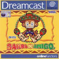 Portada oficial de Samba de Amigo 2000 para Dreamcast