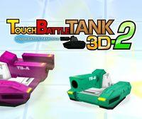 Portada oficial de Touch Battle Tank 3D 2 eShop para Nintendo 3DS