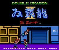 Portada oficial de Double Dragon II: The Revenge CV para Nintendo 3DS