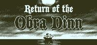 Portada oficial de Return of the Obra Dinn para PC