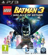 Portada oficial de LEGO Batman 3: Más Allá de Gotham para PS3