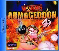 Portada oficial de Worms Armageddon para Dreamcast