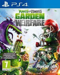 Portada oficial de Plants vs. Zombies: Garden Warfare para PS4