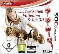 Portada oficial de Me & My Furry Patients 3D eShop para Nintendo 3DS