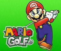 Portada oficial de Mario Golf CV para Nintendo 3DS