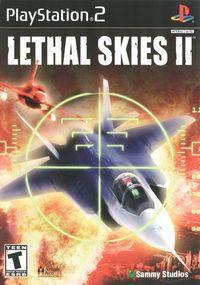 Portada oficial de Lethal Skies 2 para PS2