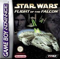 Portada oficial de Star Wars: Flight of the Falcon para Game Boy Advance