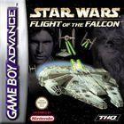Portada oficial de de Star Wars: Flight of the Falcon para Game Boy Advance