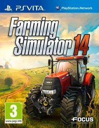 Portada oficial de Farming Simulator 2014 para PSVITA