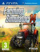 Portada oficial de de Farming Simulator 2014 para PSVITA
