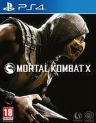 Portada oficial de de Mortal Kombat X para PS4