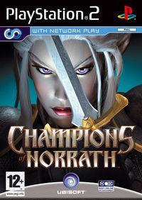 Portada oficial de Champions of Norrath - Realms of Everquest para PS2