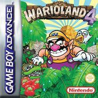 Portada oficial de Wario Land 4 CV para Wii U