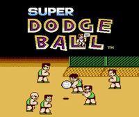 Portada oficial de Super Dodge Ball CV para Nintendo 3DS
