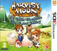 Portada oficial de Harvest Moon: El Valle Perdido para Nintendo 3DS