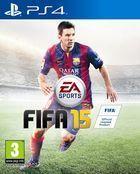 Portada oficial de de FIFA 15 para PS4