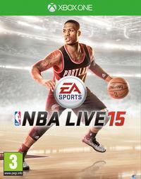 Portada oficial de NBA Live 15 para Xbox One