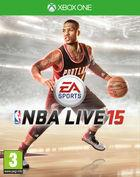 Portada oficial de de NBA Live 15 para Xbox One