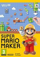 Portada oficial de de Super Mario Maker para Wii U