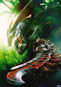 Portada oficial de Monster Hunter Freedom Unite for iOS para iPhone