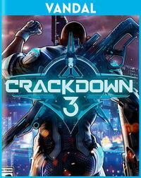 Portada oficial de Crackdown 3 para Xbox One