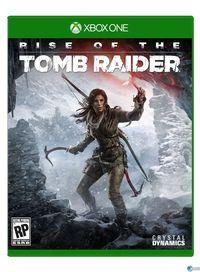 Portada oficial de Rise of the Tomb Raider para Xbox One