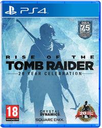 Portada oficial de Rise of the Tomb Raider: 20 Year Celebration para PS4