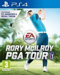 Portada oficial de Rory McIlroy PGA TOUR para PS4