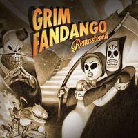 Portada oficial de Grim Fandango Remastered para PS4