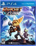 Portada oficial de de Ratchet & Clank para PS4