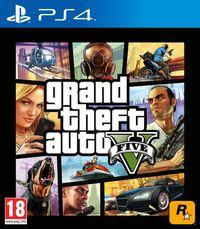 Portada oficial de Grand Theft Auto V para PS4