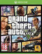 Portada oficial de de Grand Theft Auto V para Xbox One
