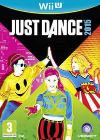 Portada oficial de Just Dance 2015 para Wii U