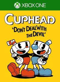 Portada oficial de Cuphead para Xbox One
