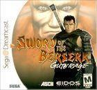 Portada oficial de de Sword of the Berserk: Guts' Rage para Dreamcast