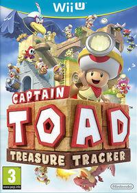 Portada oficial de Captain Toad: Treasure Tracker para Wii U