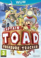 Portada oficial de de Captain Toad: Treasure Tracker para Wii U