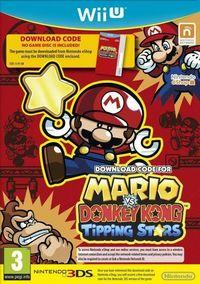 Portada oficial de Mario vs. Donkey Kong: Tipping Stars eShop para Wii U