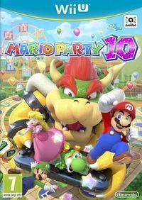 Portada oficial de Mario Party 10 para Wii U