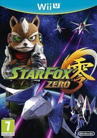 Portada oficial de Star Fox Zero para Wii U