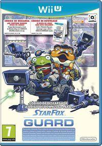 Portada oficial de Star Fox Guard para Wii U