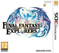Portada oficial de Final Fantasy Explorers para Nintendo 3DS