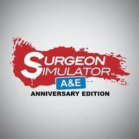 Portada oficial de Surgeon Simulator Anniversary Edition para PS4