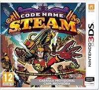 Portada oficial de Code Name: S.T.E.A.M. para Nintendo 3DS