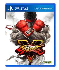 Portada oficial de Street Fighter V para PS4
