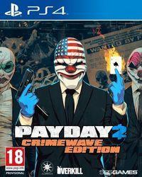 Portada oficial de PayDay 2: Crimewave Edition para PS4