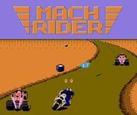 Portada oficial de Mach Rider CV para Nintendo 3DS