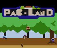 Portada oficial de PAC-LAND CV para Wii U