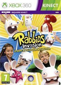 Portada oficial de Rabbids Invasion: La serie de televisión interactiva para Xbox 360