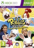 Portada oficial de de Rabbids Invasion: La serie de televisión interactiva para Xbox 360